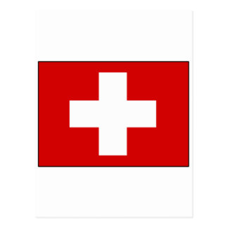 Swiss Flag T-shirts and Gifts Postcard