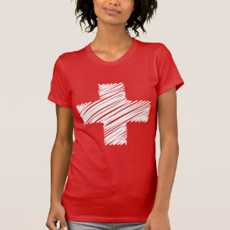 Swiss flag t shirts | Switzerland cross symbol