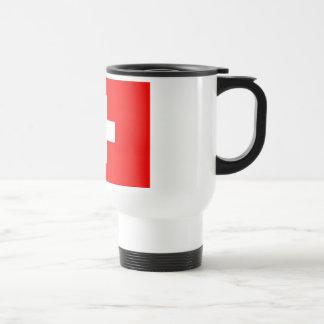 Swiss Flag Travel Mug