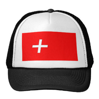 swiss-Flag Trucker Hat