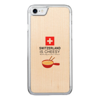 Swiss Fondue Funny Carved iPhone 8/7 Case