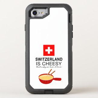 Swiss Fondue Funny OtterBox Defender iPhone 8/7 Case