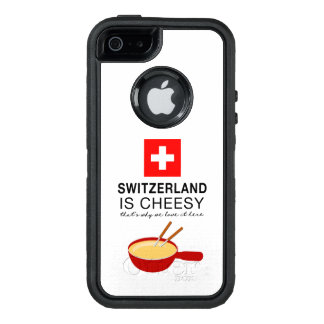 Swiss Fondue Funny OtterBox Defender iPhone Case