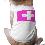 Swiss Gay Pride Pet T Shirt