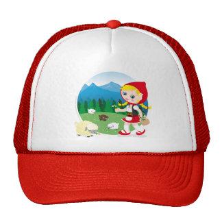 Swiss girl trucker hat