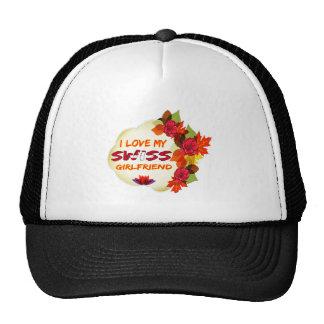 Swiss Girlfriend Designs Trucker Hat