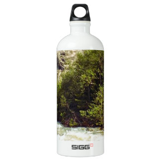 Swiss glacier and meltwater river SIGG traveler 1.0L water bottle