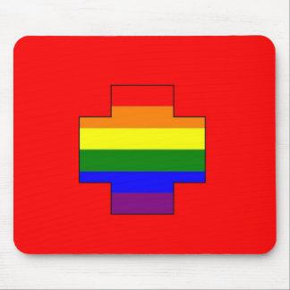 Swiss GLBT Pride Mouse Pad
