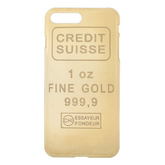Swiss Gold Bar iPhone 7 Plus Case