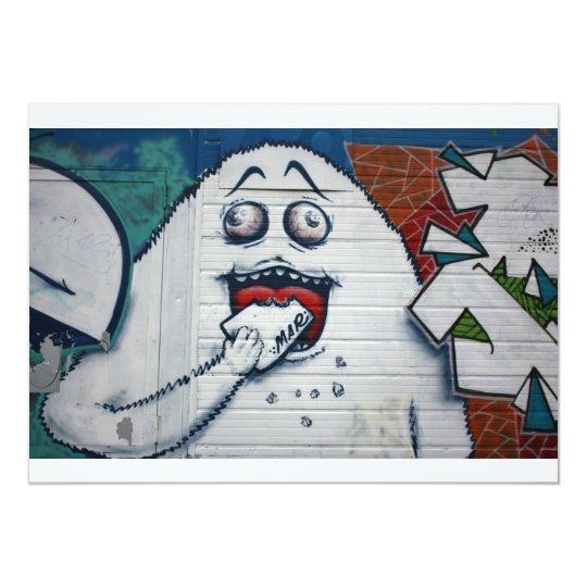 Swiss Graffiti Card