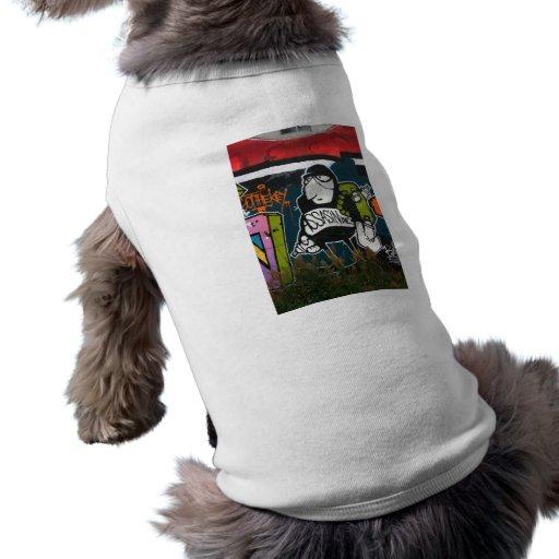 Swiss Graffiti Dog Tee