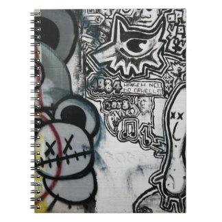 Swiss Graffiti Notebook