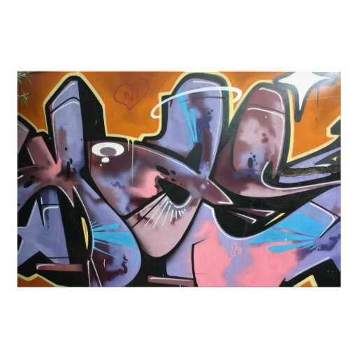 Swiss Graffiti Photo Print