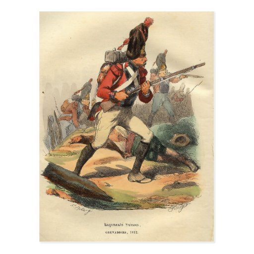 Swiss Grenadier Post Cards