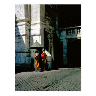 Swiss Guard at the Vatican Postcard