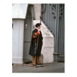 Swiss Guard in uniform designed by Michelangelo Post Card