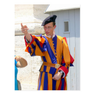 Swiss Guard Postcard