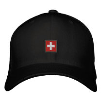Swiss Hat - Switzerland Cap With Swiss Flag
