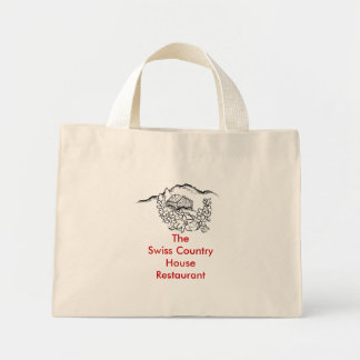 Swiss House, The Swiss Country House Restaurant Mini Tote Bag