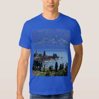 Swiss Images -  Chateau and marina at Spiez Shirts