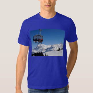 Swiss Images - Transport by cablecar T-Shirt