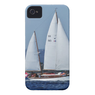 Swiss Ketch in Corsica. iPhone 4 Cover