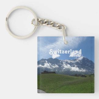 Swiss Landscape Keychain