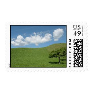 Swiss landscape postage