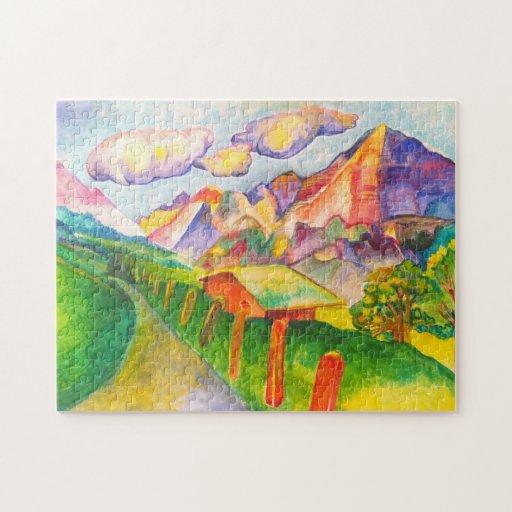 Swiss Landscape Puzzle