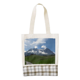 Swiss Landscape Zazzle HEART Tote Bag