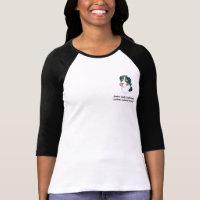 Swiss Lick Women's Ringer T-Shirt
