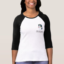 Swiss Lick Women's Ringer Tee Shirt