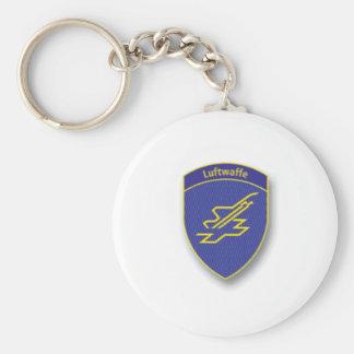 Swiss Luftwaffe Logo Keychain