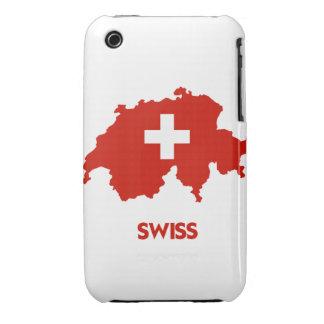 SWISS MAP Case-Mate iPhone 3 CASE
