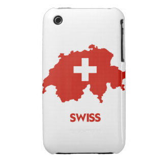 SWISS MAP Case-Mate iPhone 3 CASE