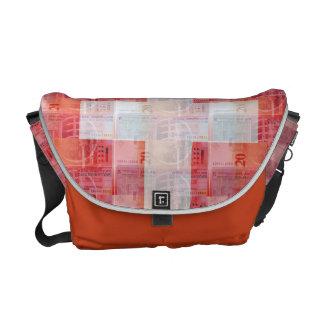 Swiss Money Messenger Bag