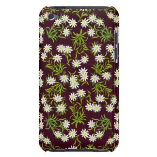 Swiss Mountain Edelweiss Flowers iPod Touch Case