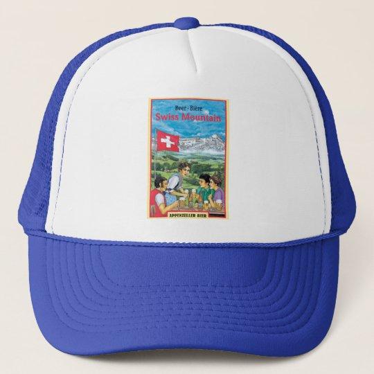 Swiss Mountain Trucker Hat