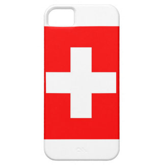 Swiss National Flag iPhone 5 Cases