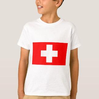 Swiss National Flag T-Shirt