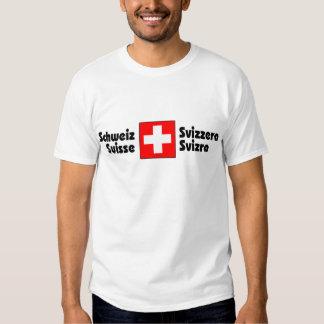 Swiss National Flag T Shirt