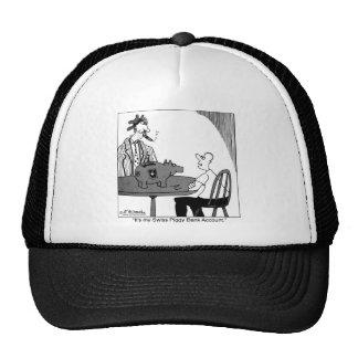 Swiss Piggy Bank Account Trucker Hat