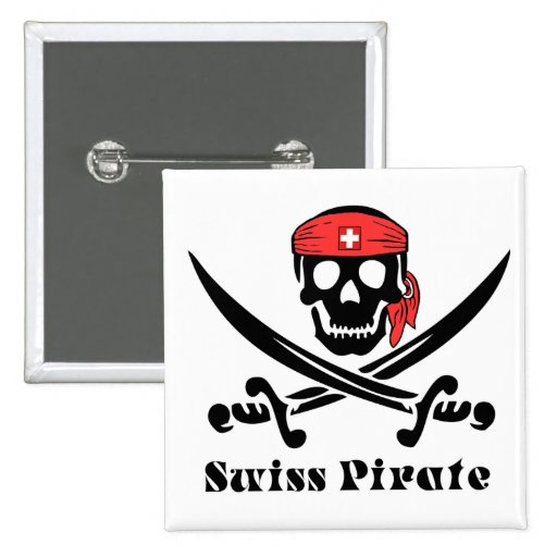 Swiss Pirate Buttons