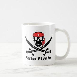 Swiss Pirate Classic White Coffee Mug