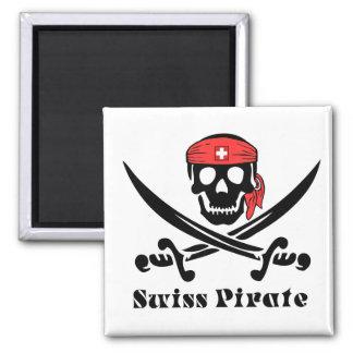 Swiss Pirate Magnet