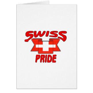 Swiss pride greeting cards