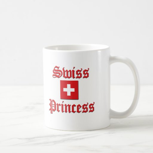 Swiss Princess Coffee Mug
