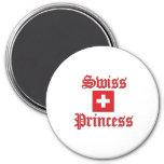 Swiss Princess Refrigerator Magnets