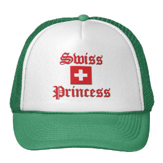 Swiss Princess Trucker Hat
