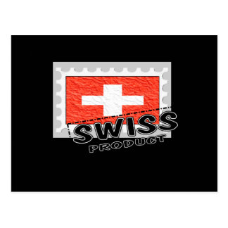Swiss product post card